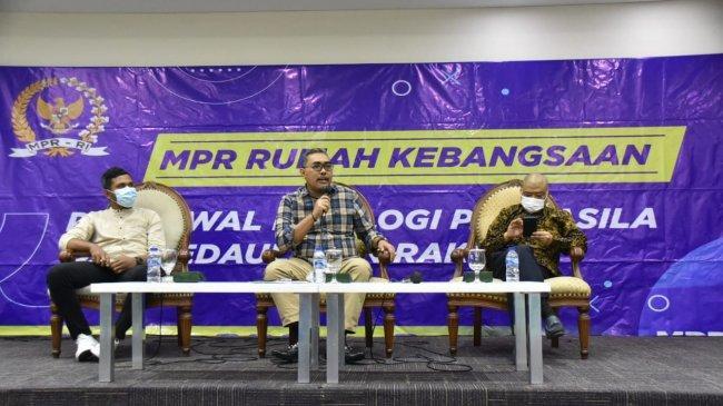 Diskusi Empat Pilar MPR, Gus Jazil: Indonesia Butuh Sosok yang Memancarkan Nilai-nilai Pancasila