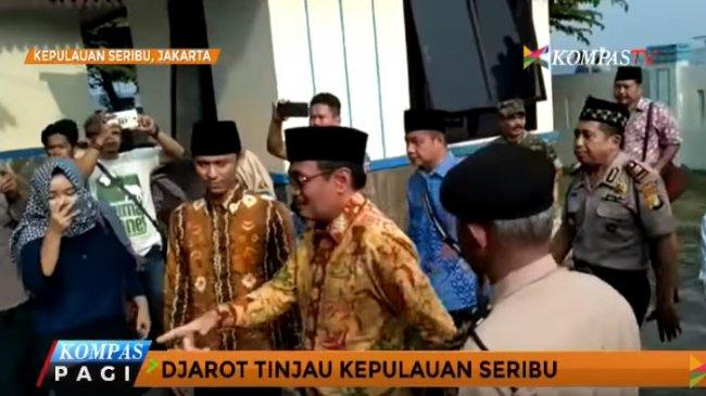 Djarot Saiful Kunjungi Pulau Untung Jawa