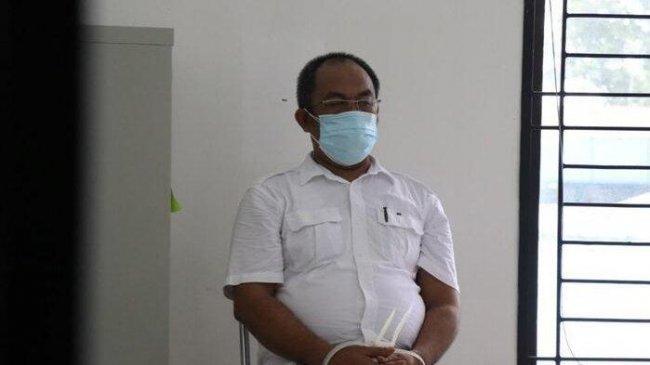 Nasib Dua Oknum Penjual Vaksin di Lapas Tanjung Gusta, Berikut Foto Mereka