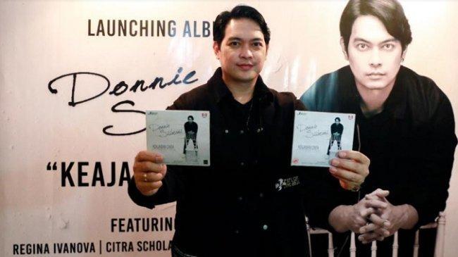 Puaskan Rindu Penggemar, Donnie Sibarani Rilis Album Solo Perdananya