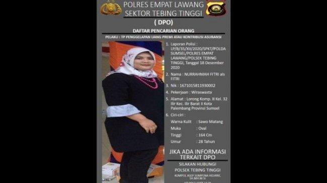 76 Nasabah Asuransi Laporkan Seorang Wanita di Empat Lawang, Diduga Gelapkan Uang Rp 1,2 Miliar