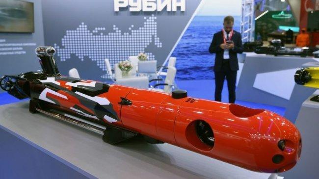 Rusia Menguji Drone Bawah Laut yang Akan Mencari dan Mengusir Kapal Selam Musuh
