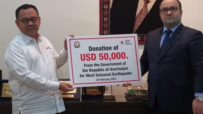 Azerbaijan Bantu Korban Gempa di Sulawesi Barat Senilai 50.000 Dolar AS