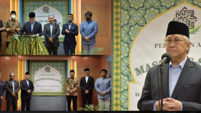 Masjid As-Salam, Masjid Baru Indonesia di Austria
