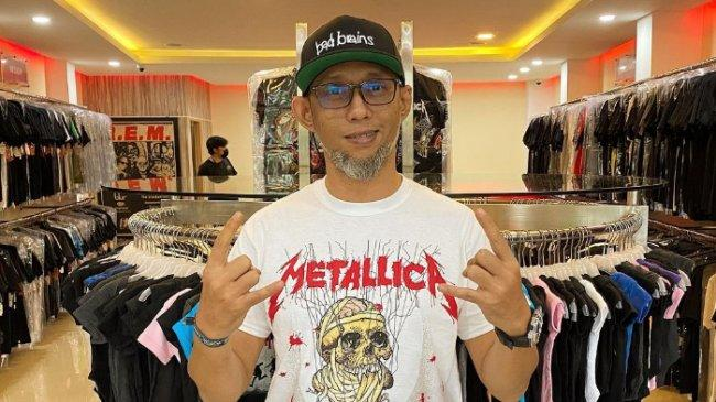 KABAR DUKA: Ebenz, Gitaris Burgerkill Meninggal Dunia di Bandung