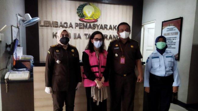 Penampakan Eks Jaksa Pinangki yang Akhirnya Jalani Eksekusi di Lapas Wanita Tangerang
