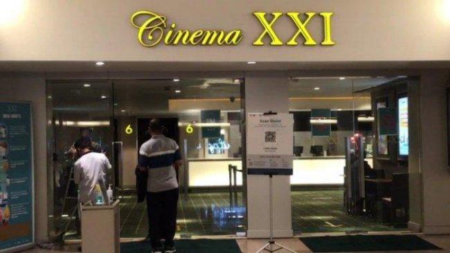 Hari Pertama Bioskop Dibuka, Cinema XXI di Blok M Plaza Masih Sepi Penonton