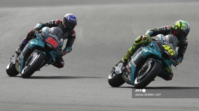 Siaran Langsung MotoGP Inggris 2021 Hari Ini, Rossi Akui Tertantang Bisa Start Posisi Kedelapan