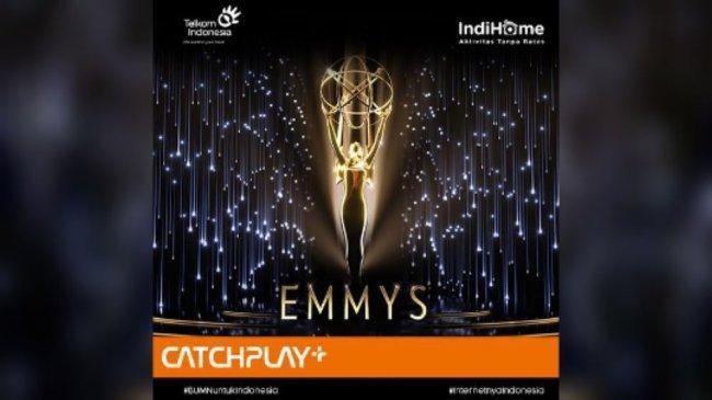 Debut, Catchplay+ dan Indihome Sukses Tayangkan Emmy Awards ke-73 Bagi Penonton Indonesia dan Taiwan