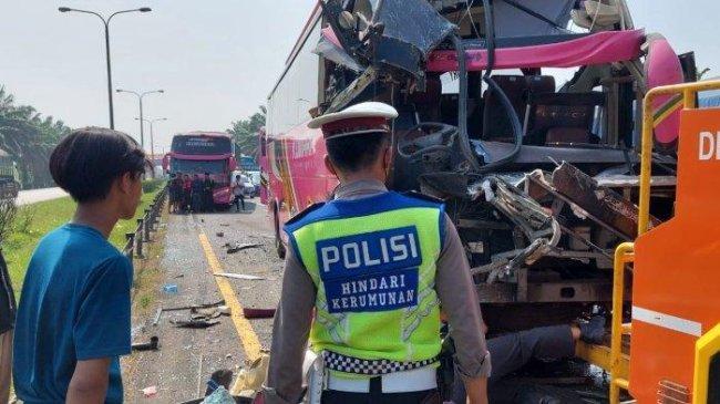 Berikut Nama-nama 18 Korban Kecelakaan 4 Bus Peziarah di Banten