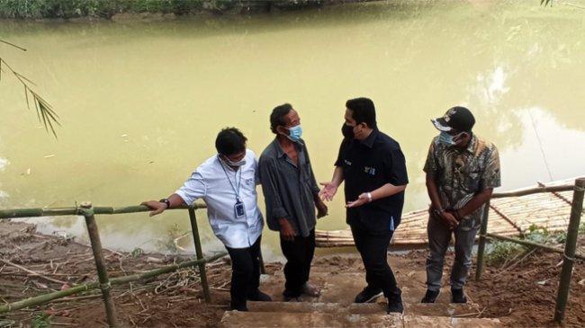 Setelah dengar Keluhan Warga, Erick Thohir Janji Bangun Jembatan di Solear Kabupaten Tangerang