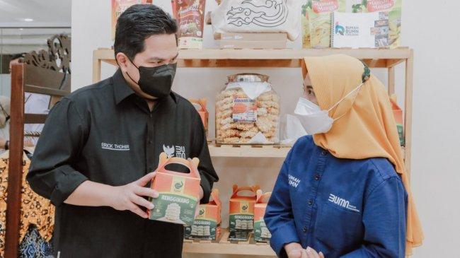 Erick Thohir Ajak UMKM Naik Kelas Lewat Pasar Digital