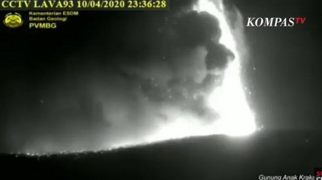 Misteri Suara Dentuman Pasca Erupsi Anak Krakatau, Darimana Asalnya?