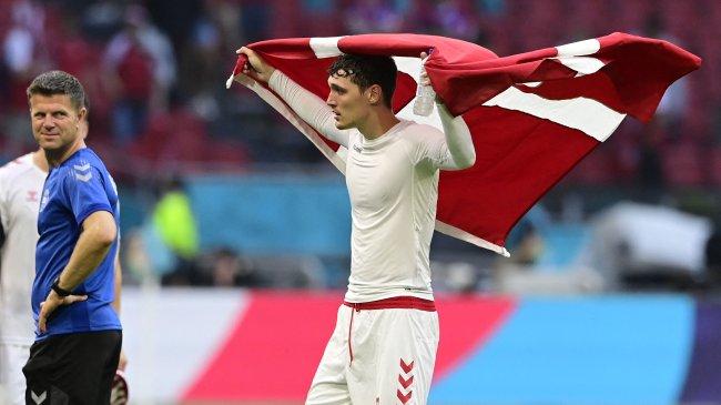 Timnas Inggris Bukan Tim yang Bagus kata Pemain Bertahan Denmark, Andreas Christensen
