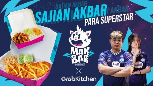 EVOS Esports Meluncurkan MAKBAR sebagai Merchant Makanan yang Tersedia Secara Eksklusif di Grab