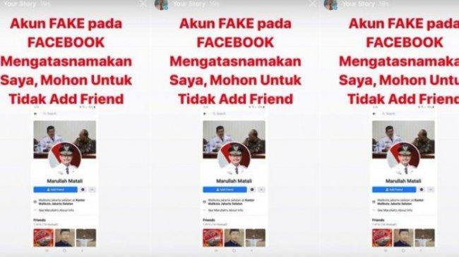 Namanya Dicatut di Facebook, Wali Kota Jakarta Selatan Lapor ke Polisi