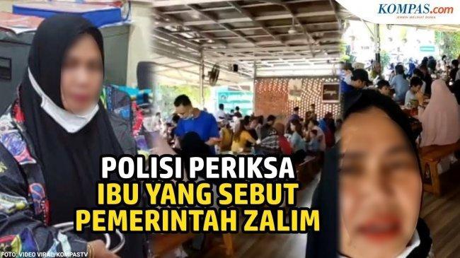 FAKTA Video Viral Emak-emak di Padang yang Sebut Pemerintah Zalim, Diciduk Polisi & Ngaku Cuma Iseng