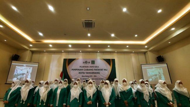 Gelar Raker, Fatayat NU Kota Tangerang Fokus pada Pengabdian