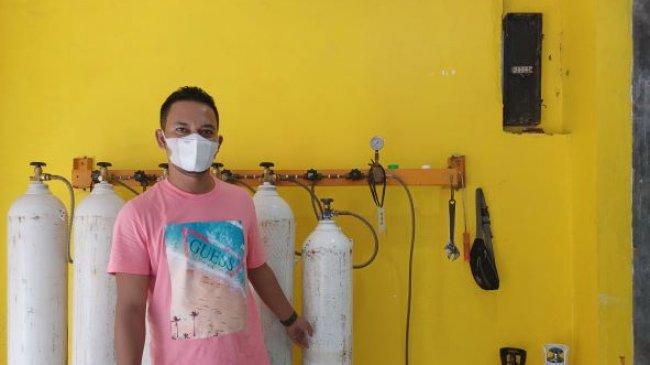 Tiap Jumat, Fauzi Medical di Matraman Berikan Isi Ulang Oksigen Secara Gratis