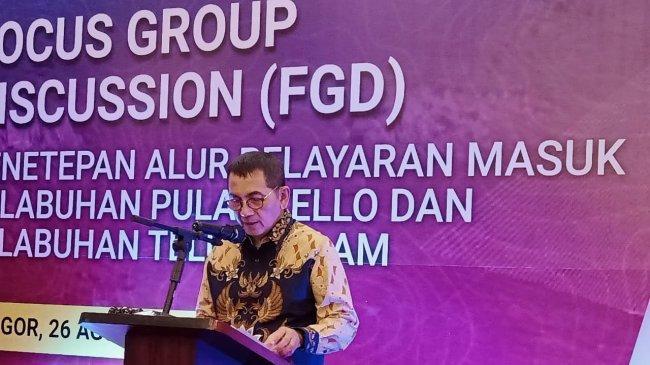 Kemenhub Gelar FGD Penetapan Alur Pelayaran Pelabuhan Pulau Tello dan Teluk Dalam