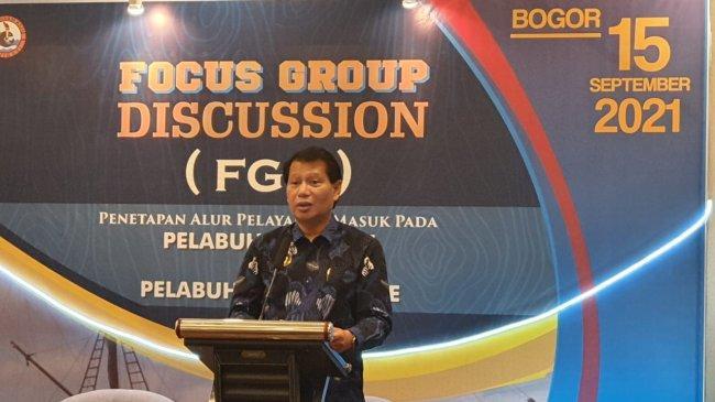 Kemenhub Gelar FGD Penetapan Alur Pelayaran Masuk Pelabuhan Pulau Parepare dan Pelabuhan Bajoe