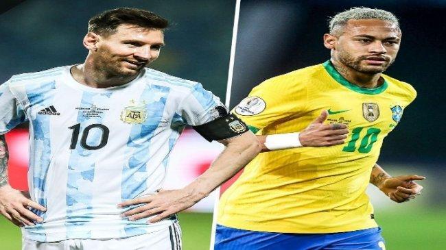 SEDANG BERLANGSUNG Live Streaming Indosiar Argentina vs Brasil Final Copa America, Tonton Lewat HP