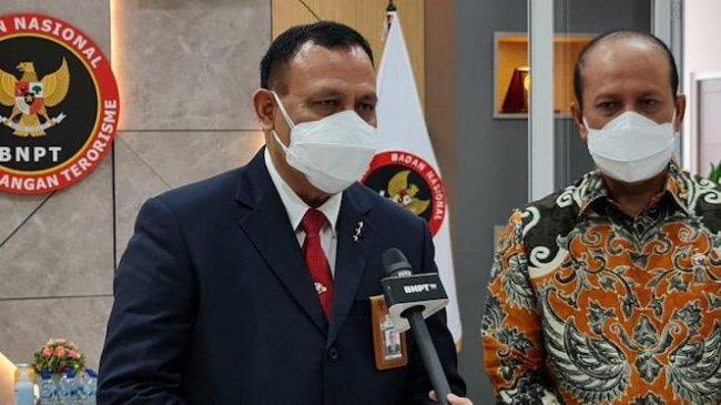 Firli Temui Rektor Unhan dan Kepala BNPT Seusai Resmikan Diklat 18 Pegawai KPK