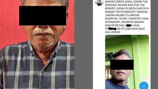 Fitnah Presiden Jokowi di Twitter, Pria 59 Tahun di Tanjungpinang Diciduk Polisi