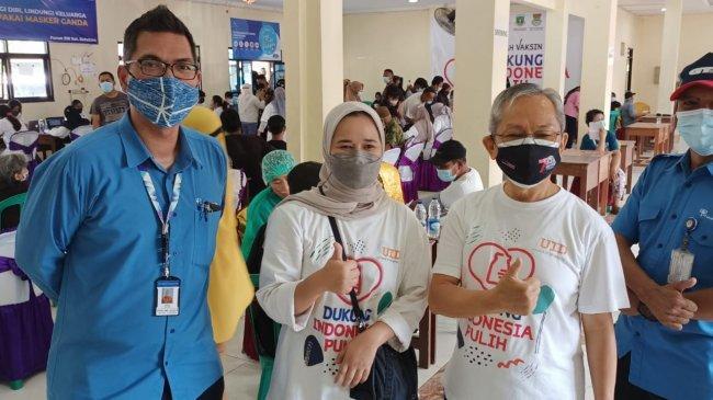 UID-Gajah Tunggal Apresiasi Warga Bangun Sentra Vaksinasi di Kabupaten Tangerang