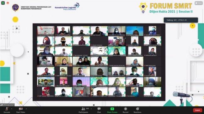 Perkuat Penyebaran Informasi Positf, Ditjen Hubla Gelar Pelatihan Jurnalistik untuk Tim SMRT