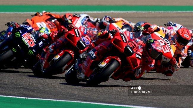 Jadwal MotoGP 2021 Akhir Pekan Ini Live Trans7 - Pertarungan Ducati, Quartararo & Marquez di Misano