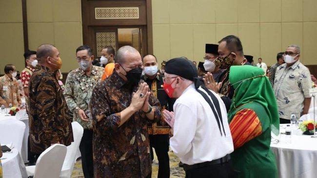 Rayakan HUT ke-17 DPD RI, LaNyalla dan Para Senator Gelar Jamuan untuk Raja dan Sultan se-Nusantara