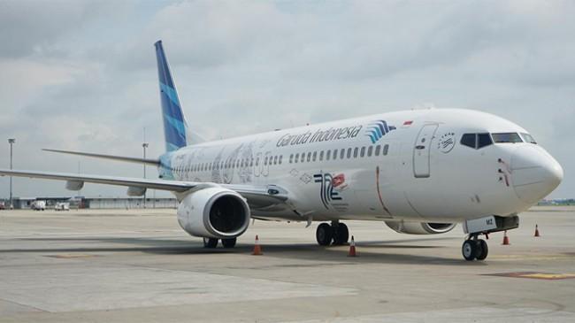 Level PPKM Turun, Trafik Penumpang Garuda Indonesia Mengalami Peningkatan