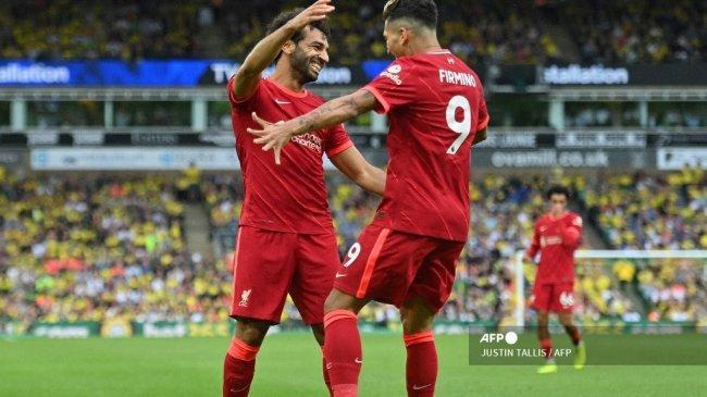 Hasil Liga Inggris: Watford Dihajar Liverpool 0-5, Firmino Hattrick, The Reds Kudeta Posisi Chelsea