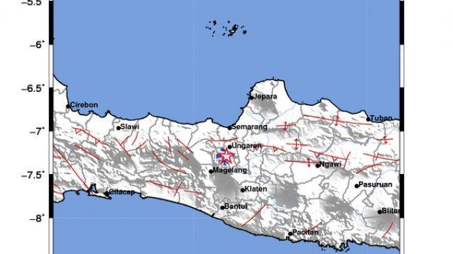 Fakta Gempa Salatiga dan Sekitarnya: Akibat Sesar Aktif Gunung, Tercatat Ada 22 Gempa Susulan