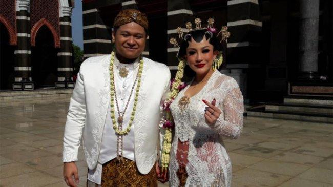 Nabila Gomes Histeris Saat Resmi Jadi Istri Muhammad Reza