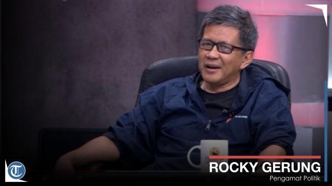 Rumahnya Terancam Digusur, Rocky Gerung akan Gugat Rp 1 Triliun Bila Berencana Gugat Balik