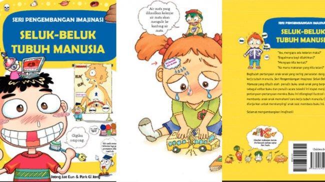 Trik Agar Menjelaskan Anggota Tubuh Pada Anak Lebih Mudah, Miliki Buku Seluk Beluk Tubuh Manusia