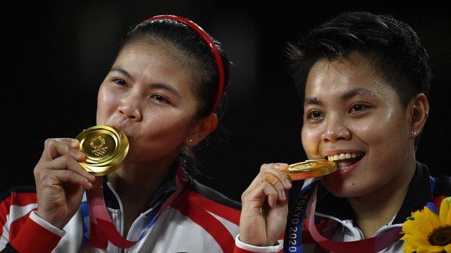 Ini Daftar Bonus yang akan Diterima Greysia/Apri Setelah Meraih Emas Olimpiade Tokyo 2020