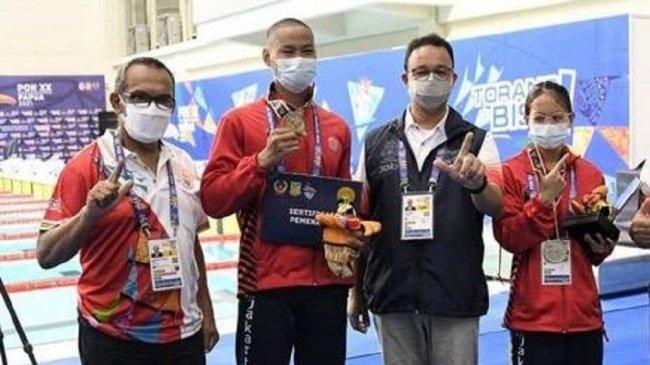 Gubernur DKI Jakarta Apresiasi Atlet PON DKI Jakarta, Hidayat: Terima Kasih Gubernur & Warga DKI