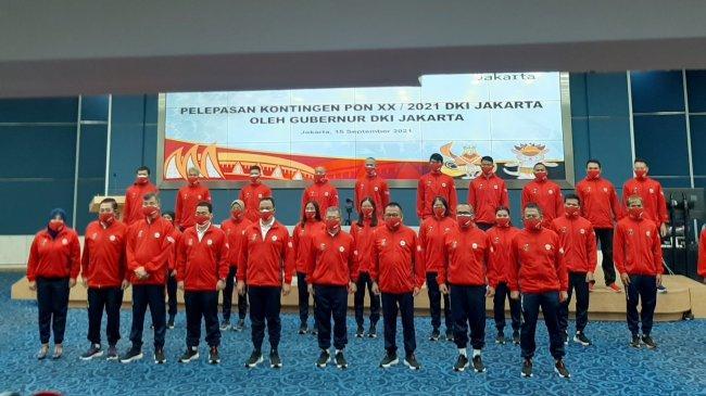 Gubernur DKI Jakarta Resmi Lepas Kontingen PON DKI Jakarta ke Papua