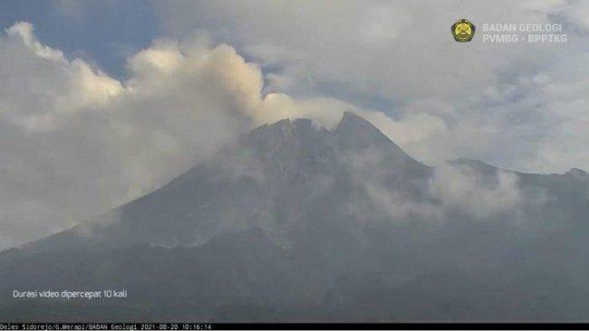 Aktifitas Gunung Merapi Mulai Melandai