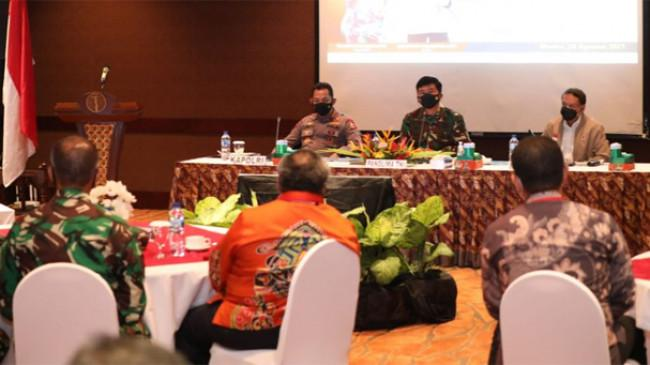 Positivity Rate di Kabupaten Mimika 16,7 %, Panglima TNI Minta Pelacakan Kontak Erat Ditingkatkan