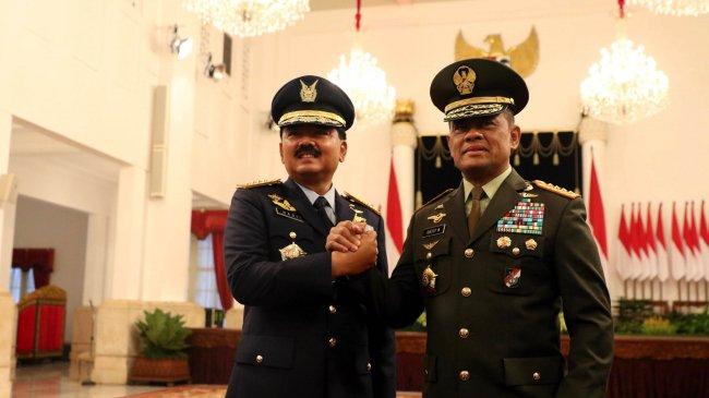 Keyakinan Jenderal Gatot Nurmantyo Terhadap Marsekal Hadi Tjahjanto