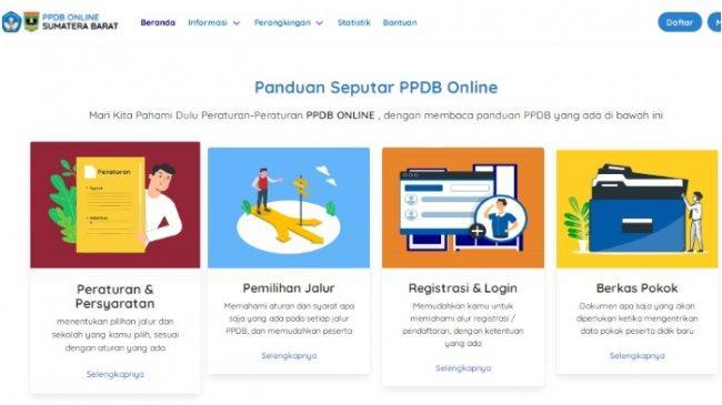 Hasil PPDB SMA/SMK Sumbar 2021 Tahap 2 Diumumkan 7 Juli 2021, Ini Cara Cek di ppdb.sumbarprov.go.id