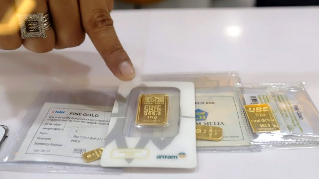 Harga Emas Antam Selasa, 31 Agustus 2021: Turun Rp 7.000, Jadi Rp 944.000 per Gram