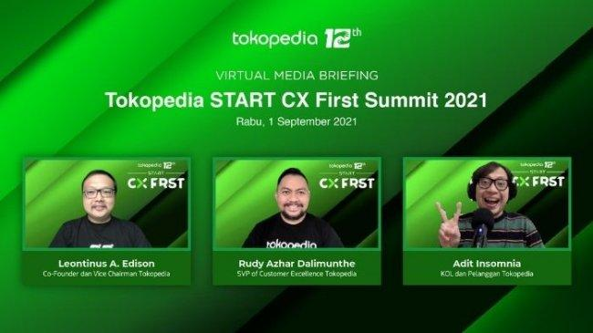 Rayakan Hari Pelanggan Nasional, Tokopedia Gelar START Customer Experience First Summit