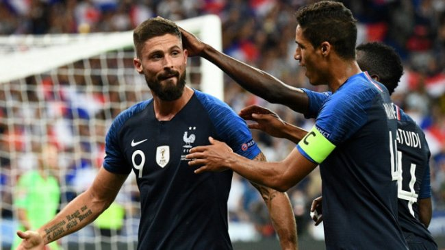 Prancis Hantam Ukraina 7-1, Olivier Giroud Cetak Brace Sekaligus Dekati Rekor Henry