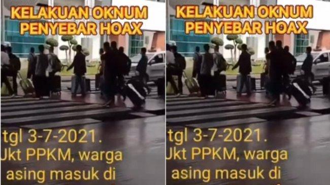 Video TKA Asing Masuk Lewat Bandara Soetta 3 Juli, Imigrasi: Itu Hoaks