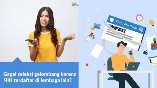 Tips Lolos Kartu Prakerja Gelombang 20, Pastikan NIK Tidak Terdaftar di Lembaga atau Bansos Lain
